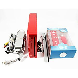 WII System - Red Special Edition - Discounted