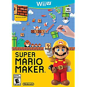 Super Mario Maker Game Only