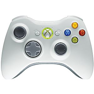 Original Microsoft XBOX 360 Wireless Controller - White