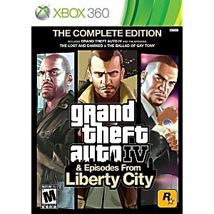 Grand Theft Auto IV and Episodes Liberty City Complete Edition