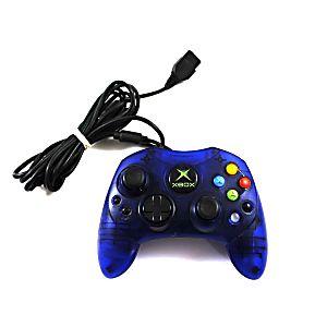 Original Microsoft Xbox Type S Blue Controller (used)