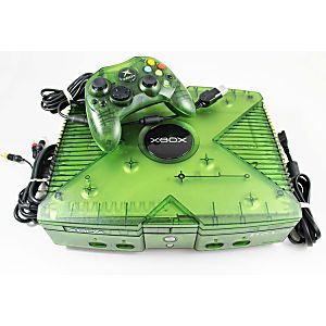 Xbox System - Limited Edition Halo Version w/ Regular Green Controller