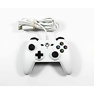 Xbox One Power A White Wired Controller